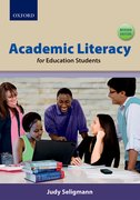Cover for Academic literacy for education students