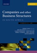 Cover for Companies & Other Business Structures 3e