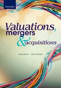Cover for Valuations, Mergers and Acquisitions