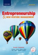 Cover for Entrepreneurship & New Venture Management 5e