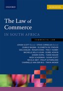 Cover for Law of Commerce in South Africa