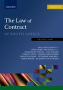 Cover for The Law of Contract in South Africa