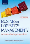 Cover for Business Logistics Management