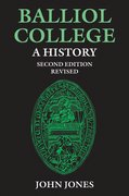 Cover for Balliol College:  A History, Second Edition