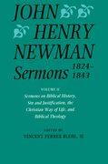 Cover for John Henry Newman Sermons 1824-1843