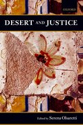Cover for Desert and Justice