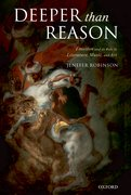 Cover for Deeper than Reason