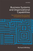 Cover for Business Systems and Organizational Capabilities