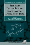 Cover for Structure Determination from Powder Diffraction Data