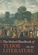 Cover for The Oxford Handbook of Tudor Literature
