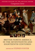 Cover for British North America in the Seventeenth and Eighteenth Centuries