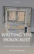 Cover for Writing the Holocaust