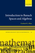 Cover for Introduction to Banach Spaces and Algebras
