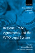 Cover for Regional Trade Agreements and the WTO Legal System