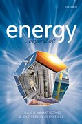 Cover for Energy... beyond oil