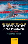 Cover for Oxford Dictionary of Sports Science and Medicine