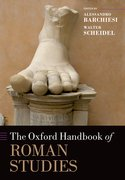 Cover for The Oxford Handbook of Roman Studies