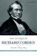 Cover for The Letters of Richard Cobden