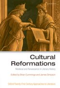Cover for Cultural Reformations