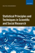 Cover for Statistical Principles and Techniques in Scientific and Social Research