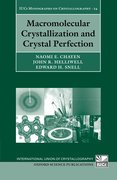 Cover for Macromolecular Crystallization and Crystal Perfection