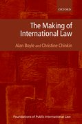 Cover for The Making of International Law