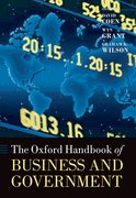 Cover for The Oxford Handbook of Business and Government