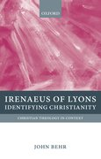 Cover for Irenaeus of Lyons