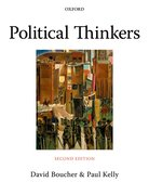 Cover for Political Thinkers - 9780199215522