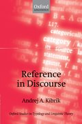 Cover for Reference in Discourse