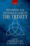 Cover for Philosophical and Theological Essays on the Trinity