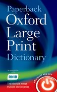 Cover for Paperback Oxford Large Print Dictionary