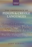 Cover for The Emergence of Pidgin and Creole Languages