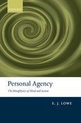 Cover for Personal Agency