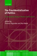 Cover for The Presidentialization of Politics