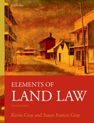 Cover for Elements of Land Law