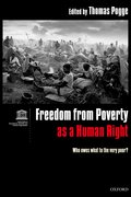 Cover for Freedom from Poverty as a Human Right
