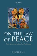 Cover for On the Law of Peace