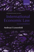 Cover for International Economic Law