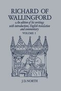 Cover for Richard of Wallingford Vol 1