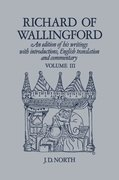 Cover for Richard of Wallingford Vol 3