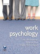 Cover for Work Psychology