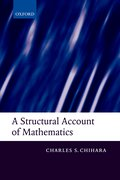 Cover for A Structural Account of Mathematics