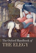 Cover for The Oxford Handbook of the Elegy