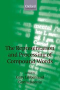 Cover for The Representation and Processing of Compound Words