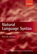 Cover for Natural Language Syntax