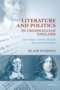 Cover for Literature and Politics in Cromwellian England