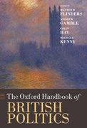 Cover for The Oxford Handbook of British Politics
