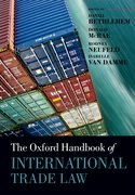 Cover for The Oxford Handbook of International Trade Law