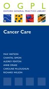 Cover for Cancer Care